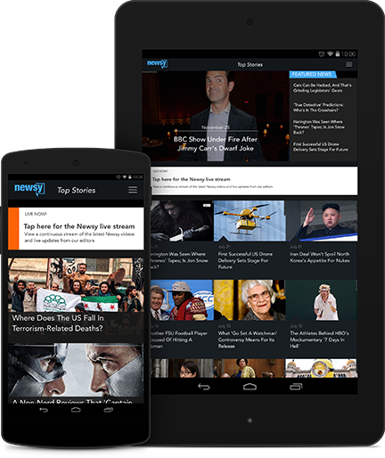 Watch Newsy On The Go: Android