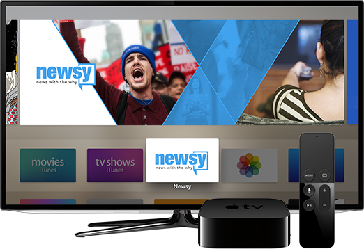 Watch Newsy On Your TV: Apple TV
