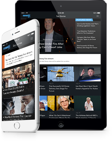 Watch Newsy On The Go: iOS