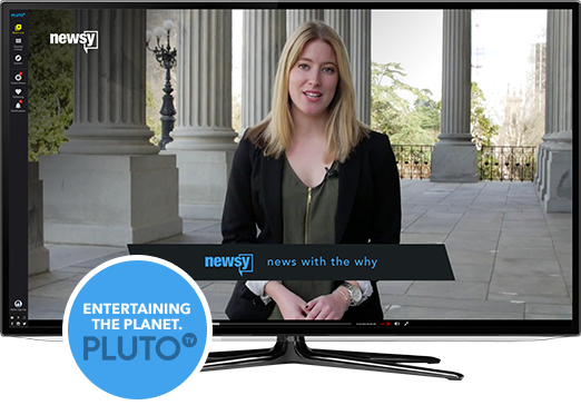 Watch Newsy On Your TV: Pluto TV